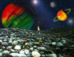 Space Collage by graphicpoetry