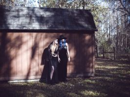 American Gothic II by Queen-Kitty