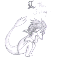 L The Snivy - Sketch by francy980