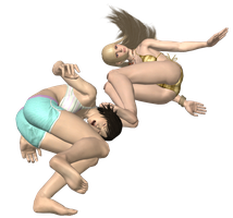 Lili Headstomp on Asuka No Background (2 of 2) by virtualsoles