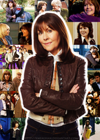 Sarah Jane Smith Collage by KMeaghan