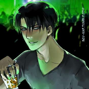 Levi Bar Scene Redraw by Bev-Nap