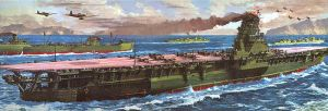 World War II's largest aircraft carrier by bwan69