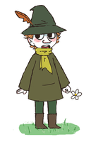 a quick snufkin for your troubles by Neonbot