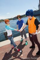 Teamwork by Twin-Cosplay