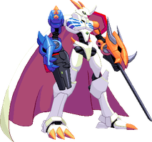 SF3 Omnimon by HIIVolt-07