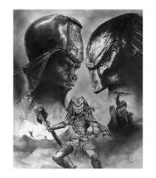 Predator on Planet of the Apes by jfife