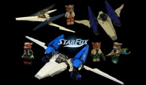 Lego Ideas: The Star Fox Series by archus7