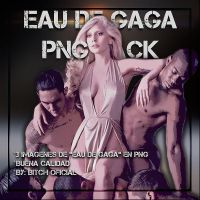 Pack-png (eau De Gaga) by BitchOficial