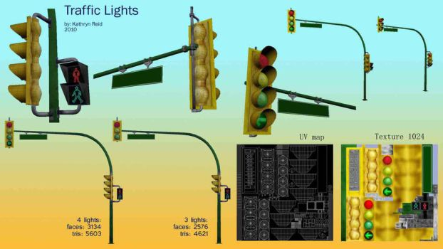 traffic lights by CharryCola