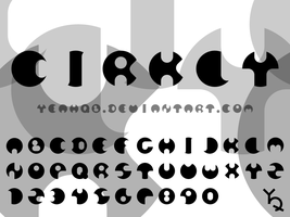 Cirkly - font pre-design by YeahQb