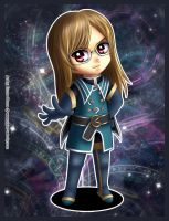 Fanart - Jade Curtiss chibi by Emoon18