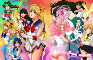 sailor moon collab by kiikii-sempai