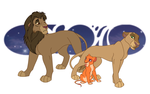 My lions characters by Alija