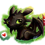 Little Cutie Toothless by neir-2-you