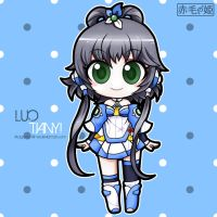 Vocaloid - Luo Tianyi by Akage-no-Hime