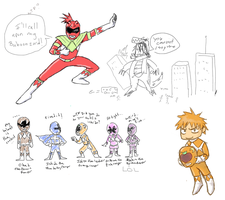 Bleach Rangers by Darci-San