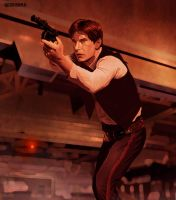 Han Solo Rebellion!! by geosis093
