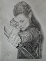 Tauriel by LaLogias