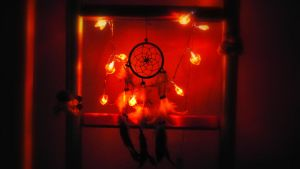 Dreamcatcher by night by Enchanted-Mermaid