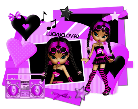 Composition Doll by LauraClover
