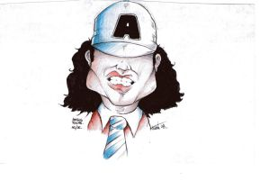 angus young ac/dc by yankor