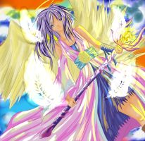 Angel coloured by Shorty-Nymph