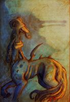 the centaur by AlbinoLupin