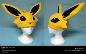 Jolteon hat 2 by Neon-Juma