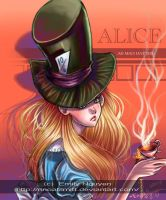 Alice as Madhatter by emilynguyenart