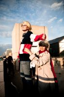 APH: Titanic in NYC by OresamaKamui
