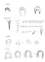 Hair types by Naruto-Rendan