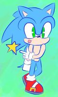 Sanic by Silver-Writer