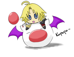 X - Moogle Ball by himichu