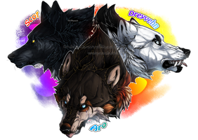 .:PA: Who wants a Trio Wolf'Assassins?:. by Mayasacha