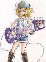 Rock and Rollin' coloured. by Hiyonori-Yumiko