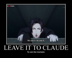 Leave it to Claude by fangir05