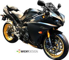 Yamaha R1 Render by Wicky0