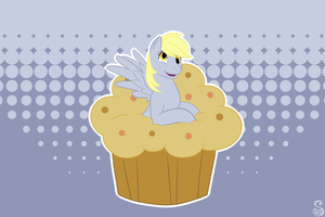 Commission: Derpy Muffins by Shrineheart