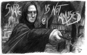 Snape is not amused by JohannesVIII