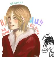 SPEEDPAINT! MY GROSS HAIKYUU FEELS OH MY GOD KENMA by K40U2