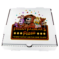 Freddy Fazbear's Pizza Box by MrAngryDog