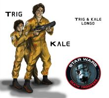 Trig and Kale Longo by Hunter-Fett