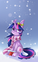 Snowy Twilight by SnowSky-S