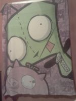 Gir as my temporary curtain X3 by WhiteFlameTiger