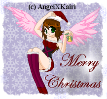 Christmas Angel by AngelShizuka