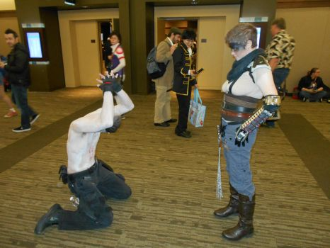War Boy bows to Furiosa by Jagarnot