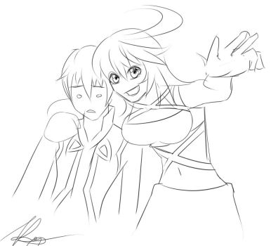 Tales of Xillia: Quicksketch by Kenny-Artist