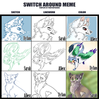 : Switch Around Meme : by indesomniac
