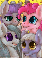 The Pie Sisters by Bluefirewings
